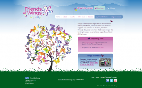 FriendsOfWings Website