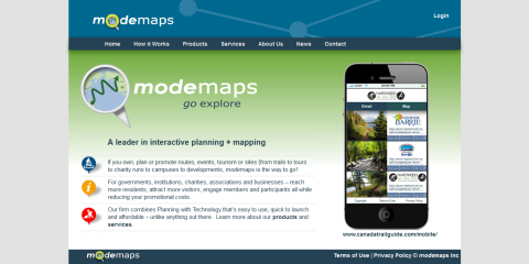ModeMaps Website