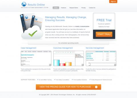 ResultsOnline2 Website