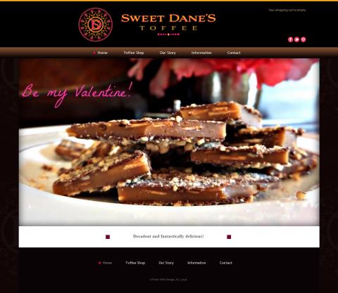SweetDanes Website