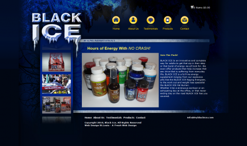TryBlackIce Website
