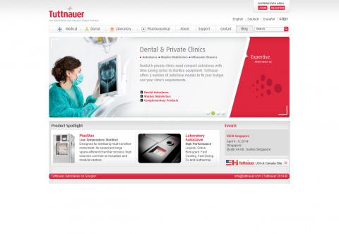 Tuttnauer Website
