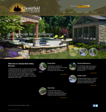 ChesterfieldValleyNursery Website