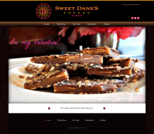 SweetDanes Website
